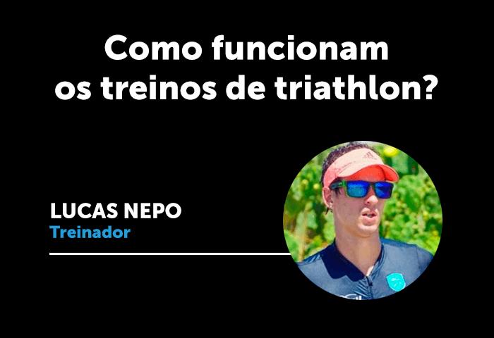 Como funcionam os treinos de Triathlon?